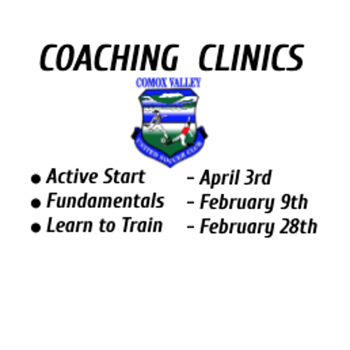 Coaching Clinic: Active Start (CANCELED)