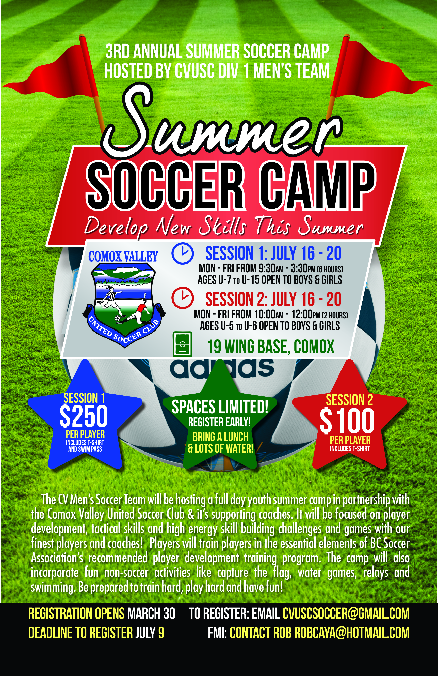 CVUSC Summer Camp