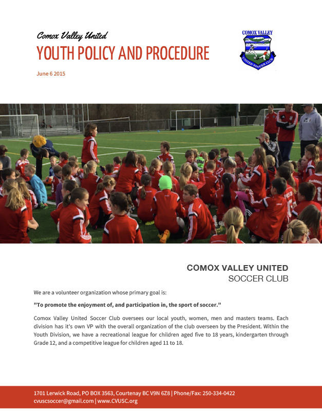 Youth Policy & Procedures